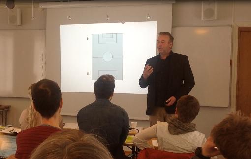 Bjørn Skovli fra Oppover holder seminar i samarbeid med Innovasjon Gardermoen
