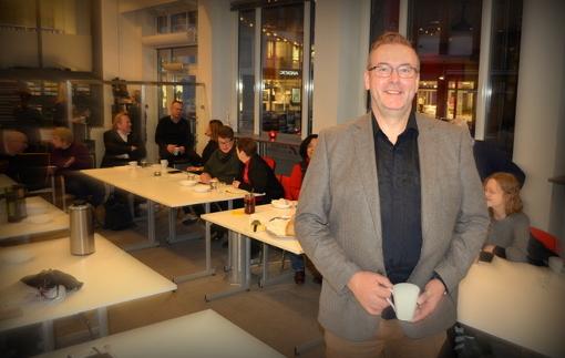 Bjørn Skovli fra Oppover holder seminar i samarbeid med Business Lillestrøm